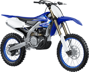 2020 YZ450FX Team Yamaha Blue right front three quarter thumbnail