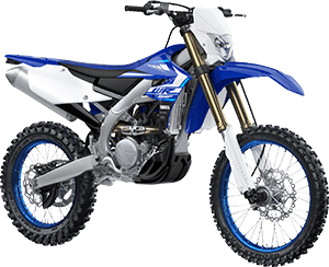 2020 WR250F YamahaBlue right front three quarter thumbnail