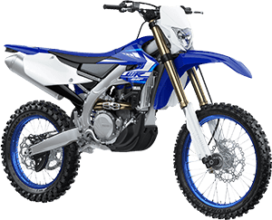 2020 WR450F YamahaBlue right front three quarter thumbnail