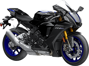 2020 YZF R1M CarbonFiber right front three quarter thumbnail