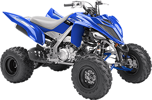 2020 Raptor 700R YamahaBlue right front three quarter thumbnail
