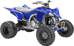 2020 YFZ450R YamahaBlue right front three quarter thumbnail