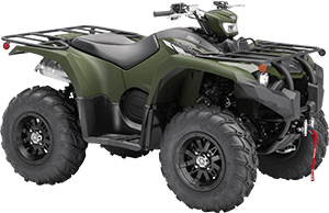 2020 Kodiak 450 EPS SE Tactical Green right front three quarter thumbnail